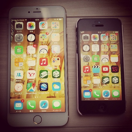 iPhone5,iPhone6plus